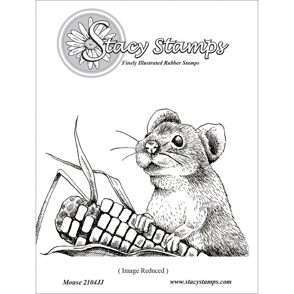 Stacy Stamp - Cling Stamp - Mouse - 2104JJ