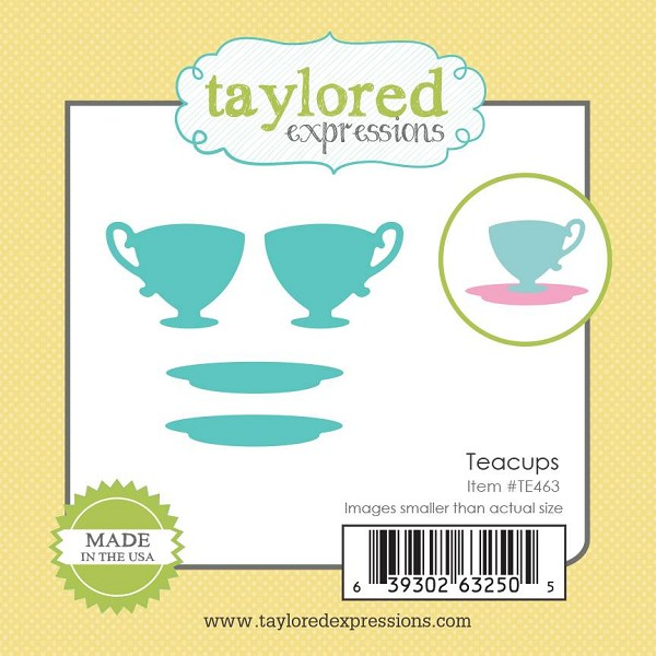 Taylored Expressions - Die - Teacups