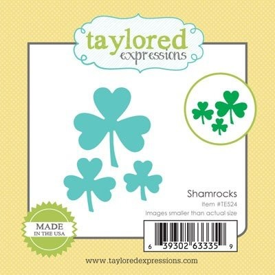 Taylored Expressions - Die - Shamrocks