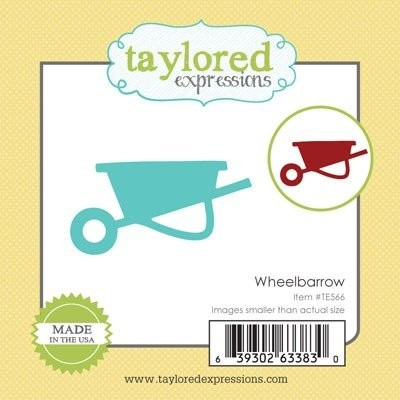 Taylored Expressions - Die - Wheelbarrow