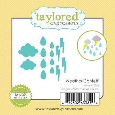 Taylored Expressions - Die - Weather Confetti