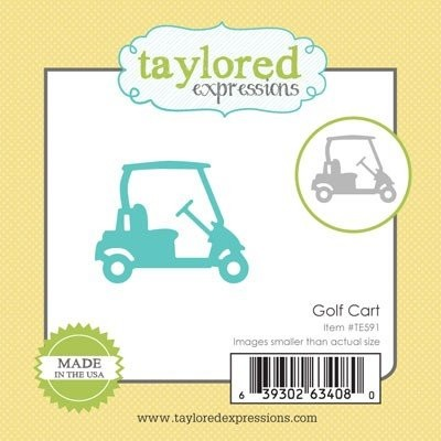 Taylored Expressions - Die - Golf Cart