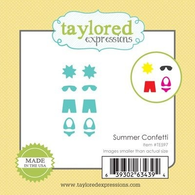 Taylored Expressions - Die - Summer Confetti