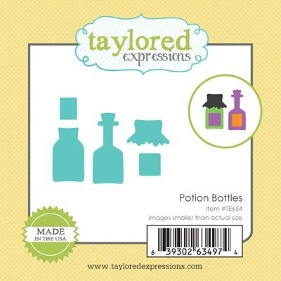 Taylored Expressions - Die - Potion Bottles