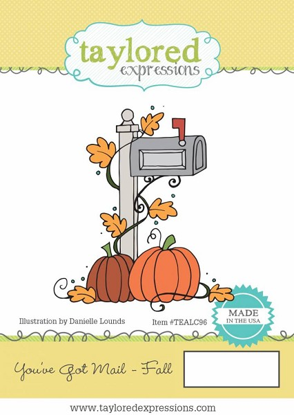Taylored Expressions - Cling Stamp - You`ve Got Mail Fall - TEALC96
