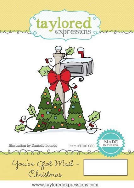 Taylored Expressions - Cling Stamp - You`ve Got Mail Christmas - TEALC98