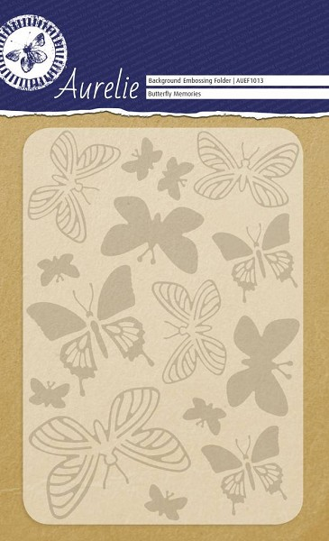Aurelie - Embossingfolder - Background - Butterfly Memories - AUEF1013
