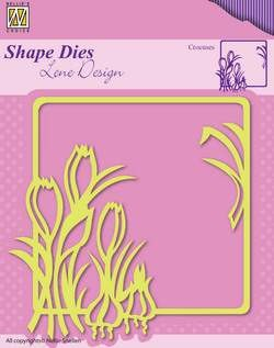 Nellie Snellen - Shape Die - Lene Design - Spring flowers - Crocuses