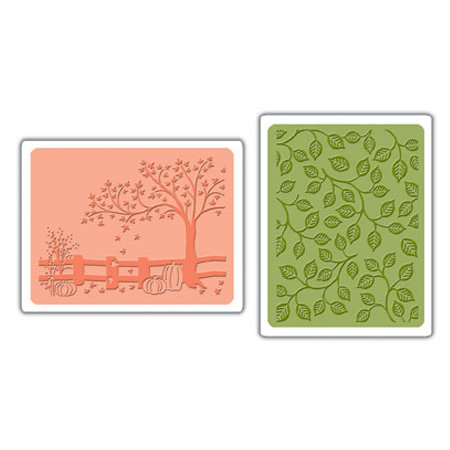 Sizzix - Embossingfolder - Fall Set - 656469