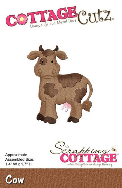 Cottage Cutz - Die - Cow - CC-081