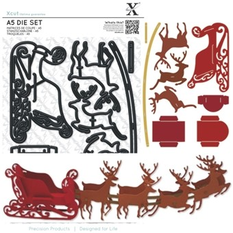 Xcut - Die set - Reindeer and Sleigh