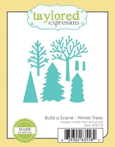 Taylored Expressions - Die - Build a Scene - Winter Trees