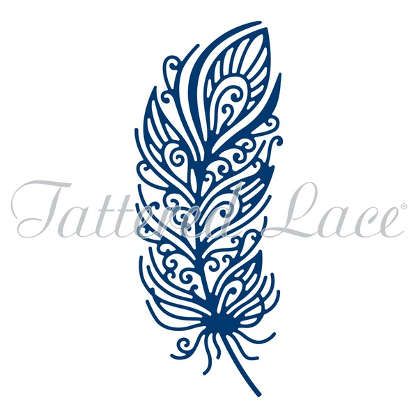 Tattered Lace - Die - Decorative Feather