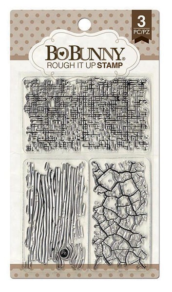 Bo Bunny - Clearstamp - Rough It Up Stamp - 12105155