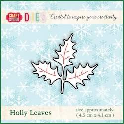 Craft & You Design - Die - Holly Leaves - CW014