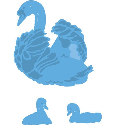 Marianne Design - Die - CreaTables - Tiny`s Swan