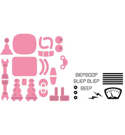 Marianne Design - Die - Collectables - Robot