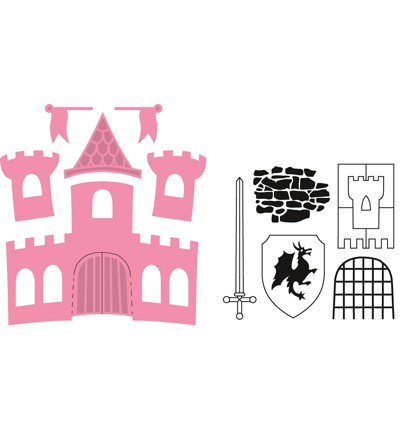 Marianne Design - Die - Collectables - Castle - COL1404
