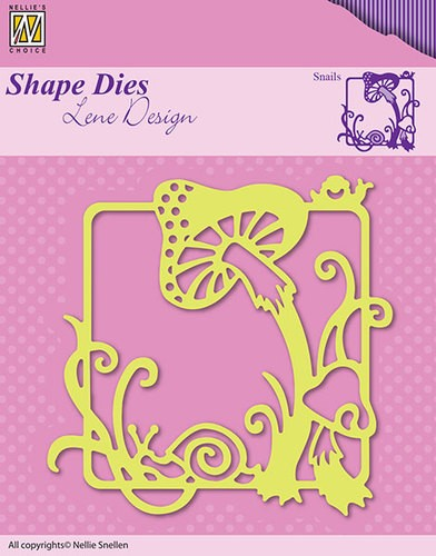 Nellie Snellen - Shape Die - Lene Design - Summer - Snails