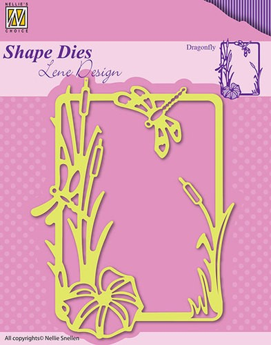 Nellie Snellen - Shape Die - Lene Design - Summer - Dragonfly