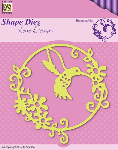 Nellie Snellen - Shape Die - Lene Design - Summer - Bummingbird