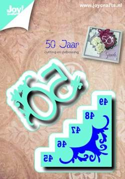Joy! crafts - Die - 50 jaar