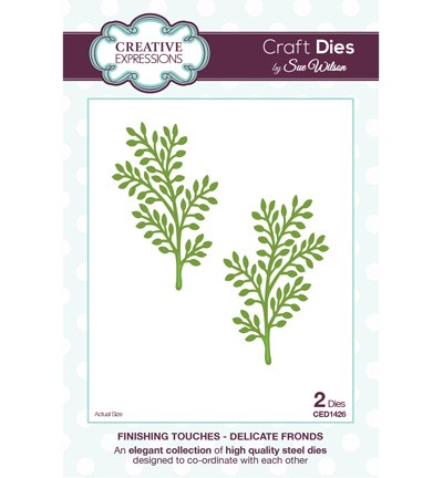 Creative Expressions - Die - The Finishing Touches Collection - Delicate Fronds