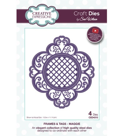 Creative Expressions - Die - The Frames & Tags Collection - Maggie - CED4315