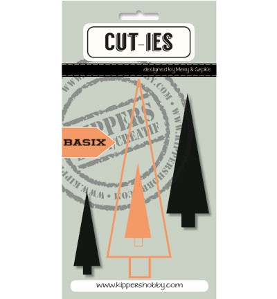 Cut-ies - Die - BasiX - Christmas Tree