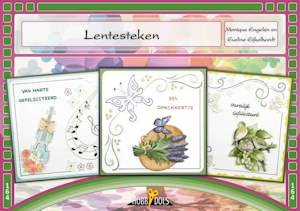Card Deco - Hobbydols - No. 164 - Lentesteken (borduren)