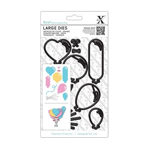 Docrafts - Xcut - Large Die - Balloons