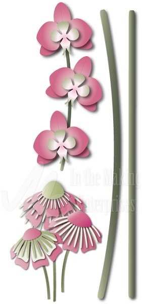 Dee`s Distinctively - Die - Flower Stems
