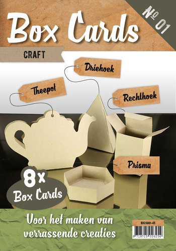 Card Deco - Box Cards 1: Craft - BXCS001-45