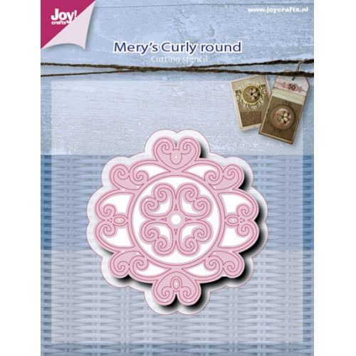 Joy! crafts - Die - Mery`s Curly Round