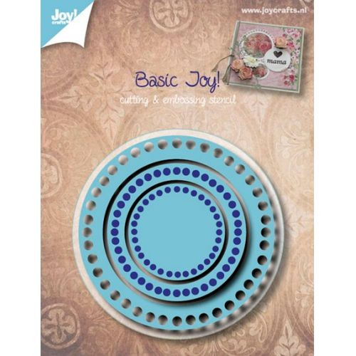 Joy! crafts - Die - Basis - Rond