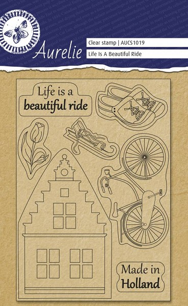 Aurelie - Clearstamp - Life Is A Beautiful Ride - AUCS1019