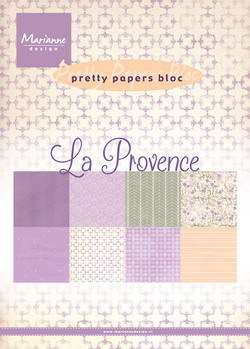 Marianne Design - Paperpack - Pretty Papers - La Provence - PK9132
