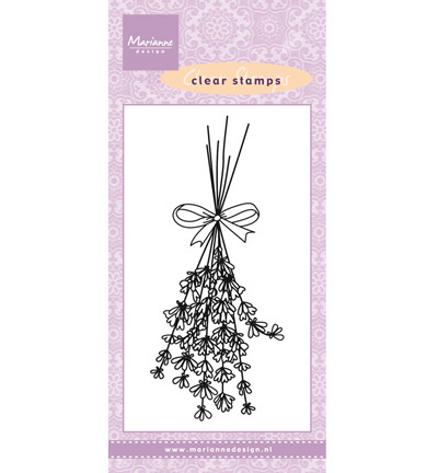 Marianne Design - Clearstamp - Lavender - CS0967