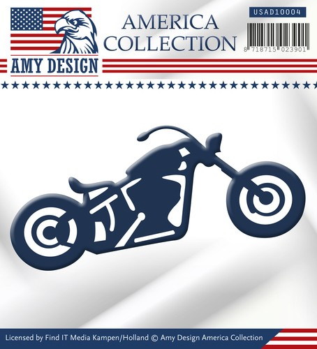 Amy Design - Die - America Collection - Bike - USAD10004
