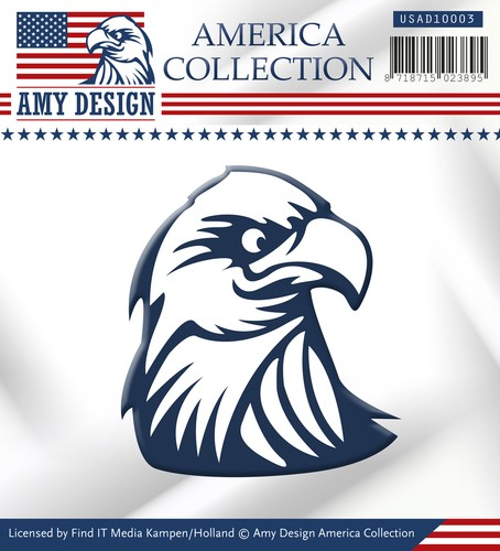 Card Deco - Amy Design - Die - America Collection - Eagle