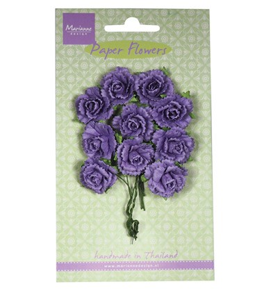 Marianne Design - Paper flowers: Dark lavender - RB2261