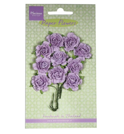 Marianne Design - Paper flowers: Light lavender - RB2260