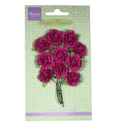 Marianne Design - Paper flowers: Medium pink - RB2259