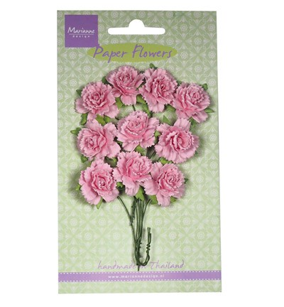 Marianne Design - Paper flowers: Light pink - RB2257