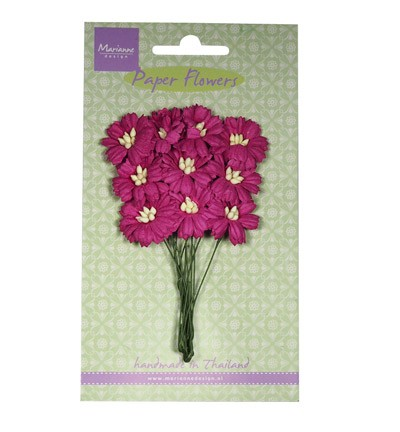 Marianne Design - Paper flowers - Daisies: Medium pink - RB2253
