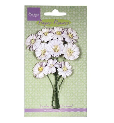 Marianne Design - Paper flowers - Daisies: White - RB2250