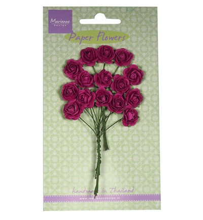 Marianne Design - Paper flowers - Roses: Medium lavender - RB2247
