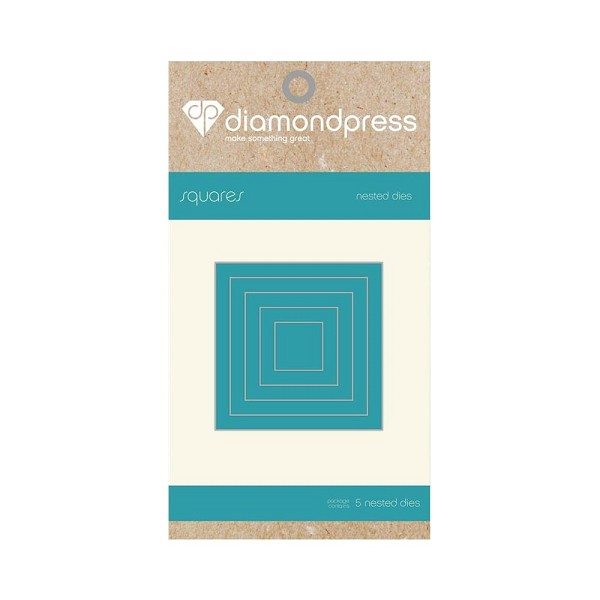 Diamond Press - Die - Nested Square
