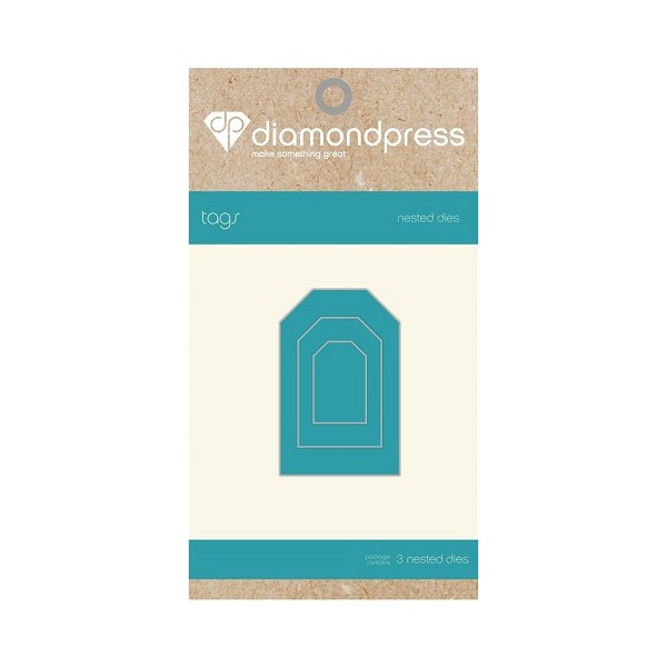 Diamond Press - Die - Nested Tags