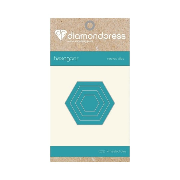 Diamond Press - Die - Nested Hexagon